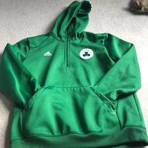 Adidas NBA Boston Celtics hoodie youth large 14/16